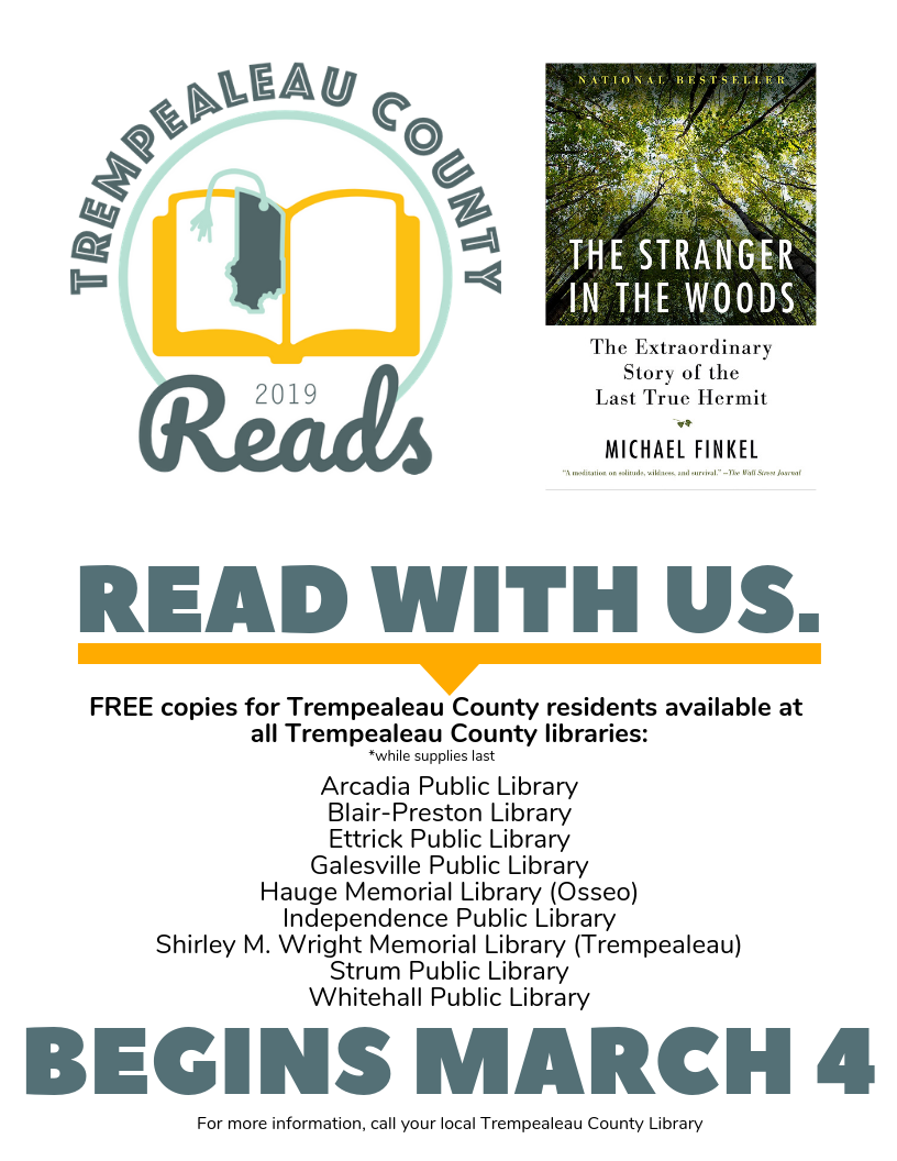 Trempealeau County Reads Poster