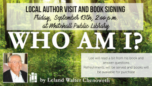 Lee Chenoweth Book Signing