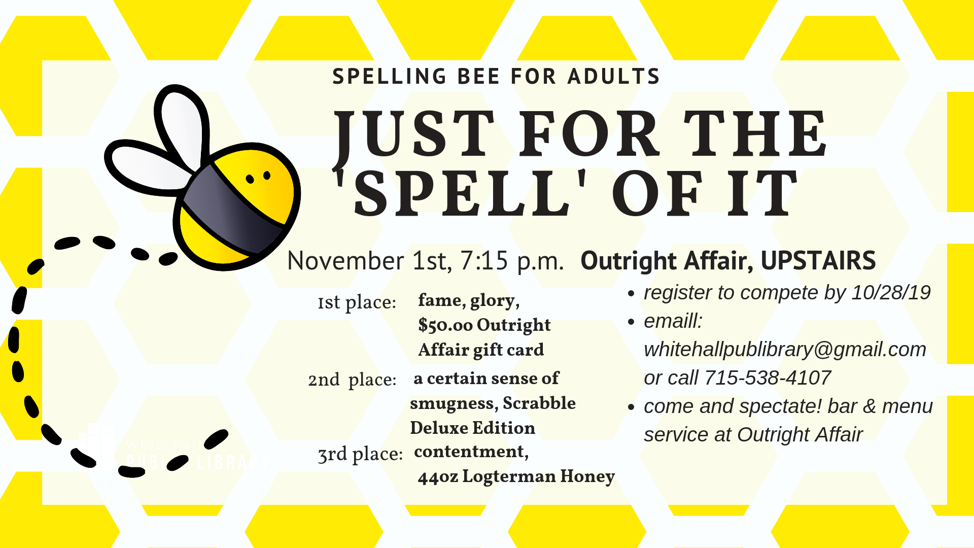 Spelling Bee for Adults ad