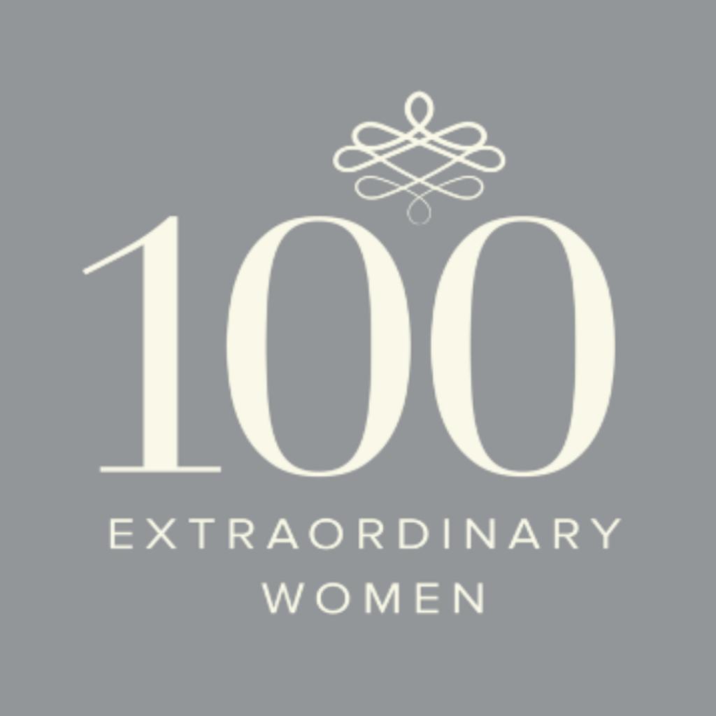 100 Extraordinary Women Logo